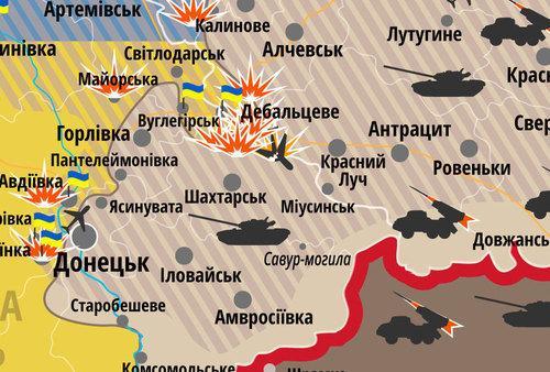 Ukrajna Vchera I Dnes Zimnoto Nastplenie Na Rusiya V Donbas Se